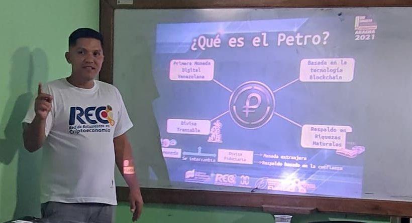 La ideas es legitimar el conocimiento de la Criptoactivdidad y el Ecosistema Petro en el país.